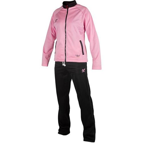 Chandal mujer personalizado LOLA rosa-negro