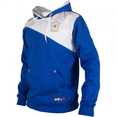 Sudadera personalizada RETRO DIAGONAL royal