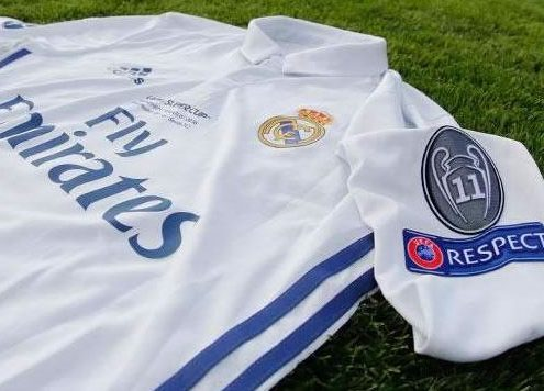 Camiseta de futbol del Real Madrid