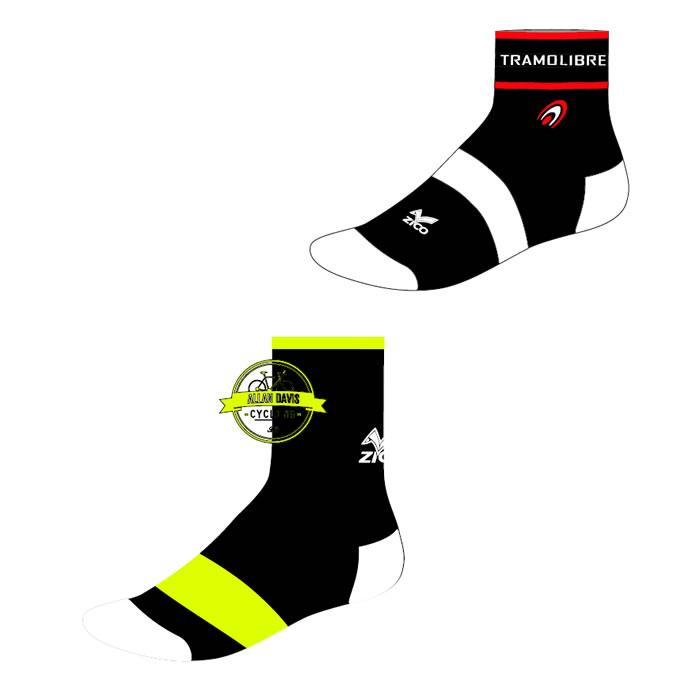 Calcetines de ciclismo personalizados