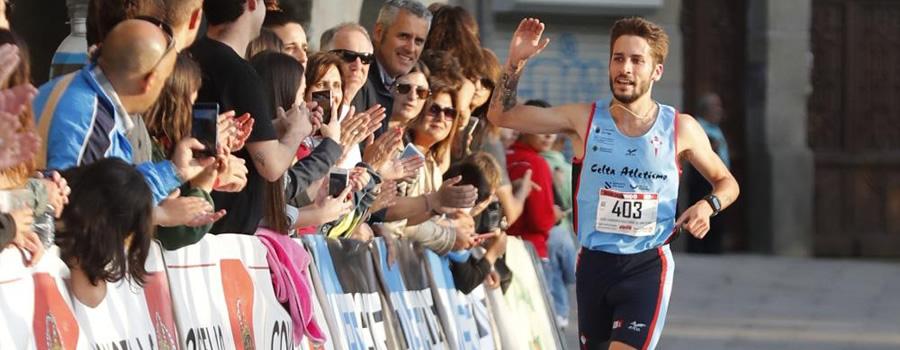Gonzalo Basconcelo ganador de la carrera de San Juan 2017