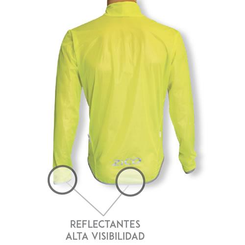 Chubasquero ciclismo membrana personalizado