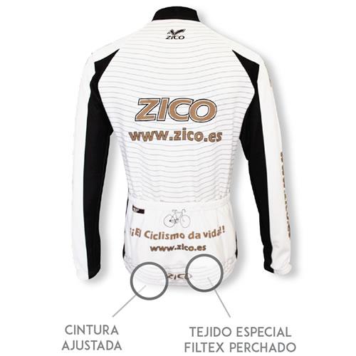 Maillot manga larga ciclismo personalizado Galicia